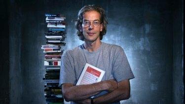<i>The Age</i> Literary editor Jason Steger.