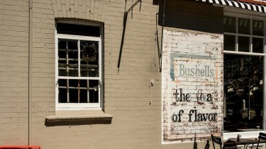 A ghost sign on the wall of a former corner store in Annandale.