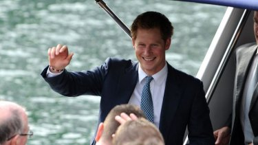 Prince Harry had a quiet night at The Stables Bar in Perth.