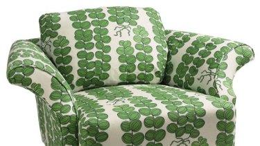 A Joesef Frank-designed armchair.