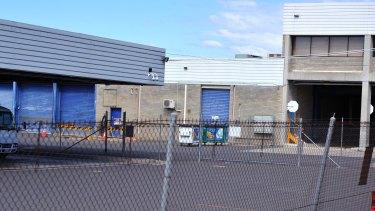 The Dundas Street Woden Bus Depot in 2012