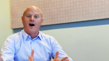 CBA chief executive Ian Narev face questions about his future.