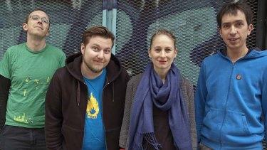 The team behind Data Dealer.