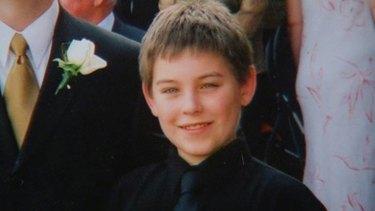 Murdered schoolboy Daniel Morcombe.