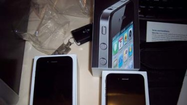 The iPhone 4 that left the store just a little bit too early.