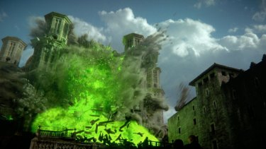 The wildfire which claims so many lives and the Sept of Westeros.