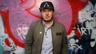 Corey Fredrickson at the Anglicare youth centre in Canberra.