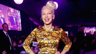 Singer/songwriter Sia's <i>Chandelier</i> is among APRA song of the year nominees.
