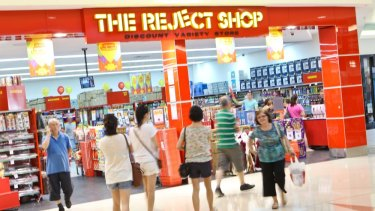 The Reject Shop is facing stiff competition from the likes of Kmart and Big W as well as new players like Japan's Daiso.