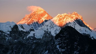 China has done some work on plans for  a tunnel under Mount Everest, according to an official.