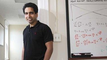 Salman Khan, the creator of Khan Academy software.
