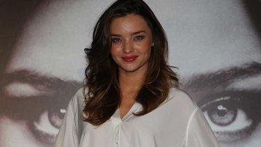Miranda Kerr ... at the centre of the domain name game.