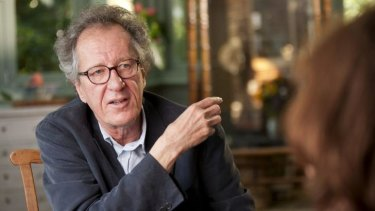 Geoffrey Rush voices an oak tree in the animated film.
