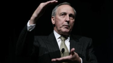 Paul Keating at a PIMCO Forum.