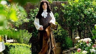 Alan Rickman as Louis XIV in <i>A Little Chaos</i>.