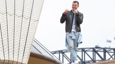 Guy Sebastian plans to come out swinging.