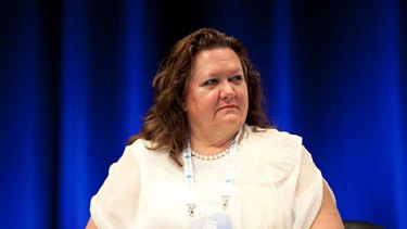 """Gina Rinehart ... """"When it comes to billionaires, no-one comes close to our very own Gina."""""""
