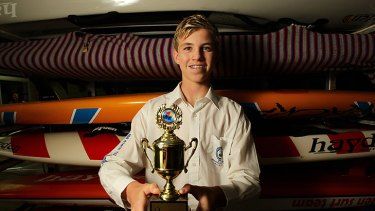 Matt Barclay went missing yesterday missing off Kurrawa Beach on the Gold Coast while competing in the Australian Surf Life Saving Championships.