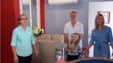 Judd and his family from Canberra were blown away by the Bezzina House transformation.