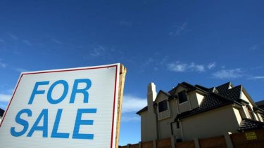 Leaving the market: First home buyers now make up 13.7 per cent of loans, the lowest since 2004.