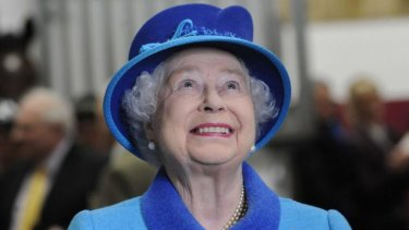 """The Queen is described as """"uneducated but honest through and through''."""