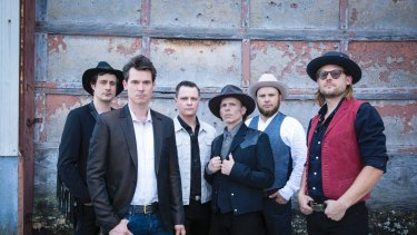Old Crow Medicine Show return to Australia.