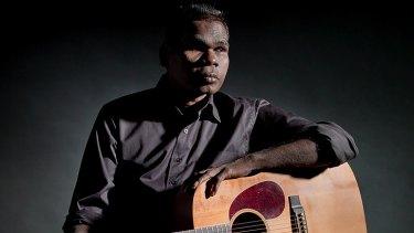 Musician Geoffrey Gurrumul Yunupingu.
