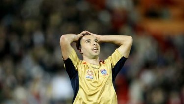 Show us the money ... Newcastle Jets players, such as  Marko Jesic, haven't been paid.