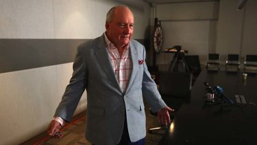 Never again ... Mercedes-Benz cuts all ties with Alan Jones.