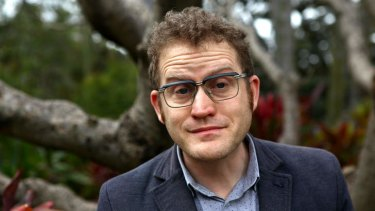 Chuffed: John Safran is drawn to stories about race.