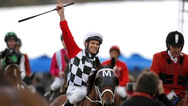 Allegedly paid kickbacks to a third party to fix a race ... top jockey Danny Nikolic.