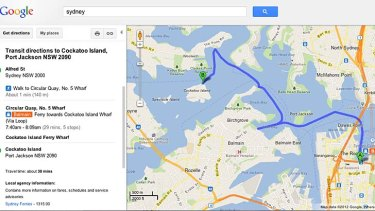 Sydney commuters can now Google their way to work on driving directions, google livestreet map trinidad, maps and directions, google map from to, google street view, bing directions, google mapa, google latitude, apple maps directions, map with directions, custom map directions, mapquest directions, get directions, google map request, google mapquest, google calendar, google mars, google earth, google search, google map lakeport ca,
