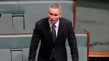 Prime Minister Julia Gillard will be in the Windy City when Craig Thomson (pictured) addresses Parliament on Monday.