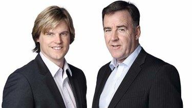 The contenders: Nathan Bracken and Lawrie McKinna.