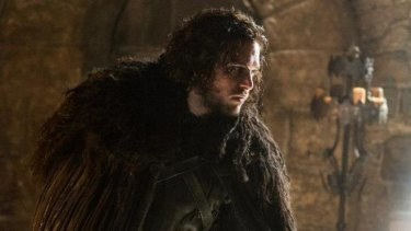 You'd think the fire priestess would be too hot to touch, Jon Snow.