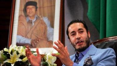 No problem with rebels ... Saadi Gaddafi.