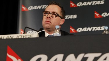 Qantas boss Alan Joyce.