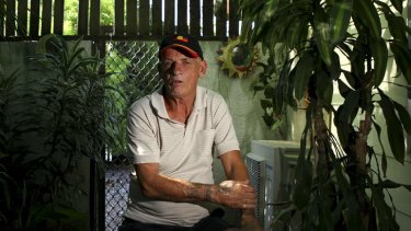 """David Lawton, 60, at his home in Woodridge, south of Brisbane, wonders what has happened to his younger brother Robert """"Bobby"""" Lawton. Robert, 57, was on the Malaysia Airlines Flight 370 that has been missing for over a week."""