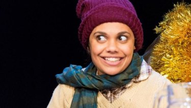 Miranda Tapsell is perfectly chipper as Tiny Tim in <em>A Christmas Carol</em>.