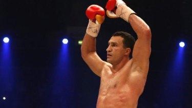 Dr Steelhammer: undisputed world heavyweight champion Wladimir Klitschko.