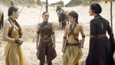 Slytherin House ... Ellaria Sand has some tough words for the Sand Snakes.