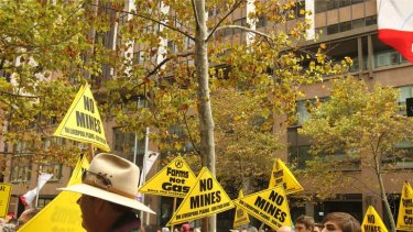 A call for a moratorium on coal seam gas mining is gaining ground.