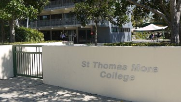 St Thomas More College is in mourning after the death of former student Harrison Kadell.