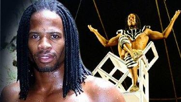 Godfrey Zaburoni ... the circus acrobat who has admitted having HIV.