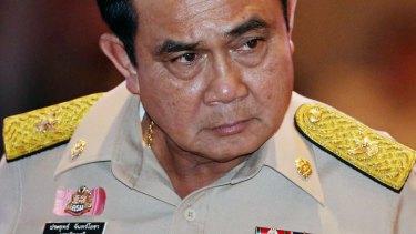 Thailand's Prime Minister Prayuth Chan-Ocha, leader of the Thai junta.