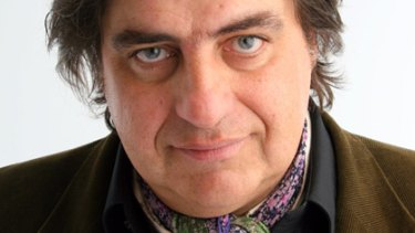 Cravat attack... Food critic and <i>MasterChef</i> star Matt Preston.