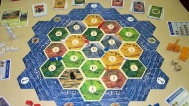 The one that started it all, Settlers of Catan