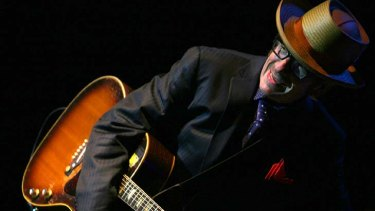 Elvis Costello in concert in 2009.