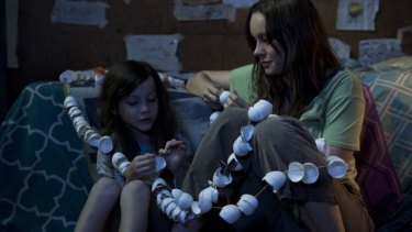 Brie Larson and Jacob Tremblay in <i>Room</i>, a powerful imagining of an extraordinary situation.