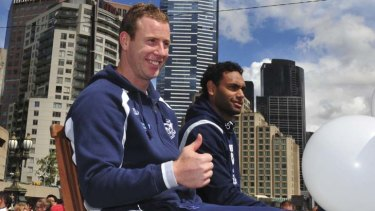 Thumbs up ... But the coach will decide Steve Johnson's fate.